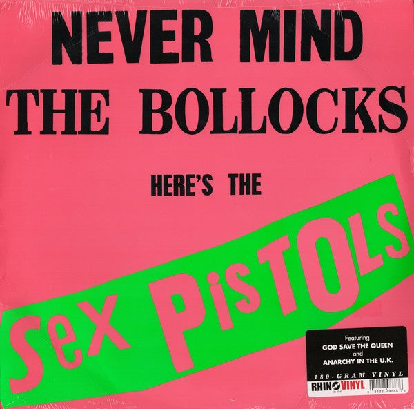 Image of *NEW* Sex Pistols - Never Mind the Bollocks.... Here's the LP