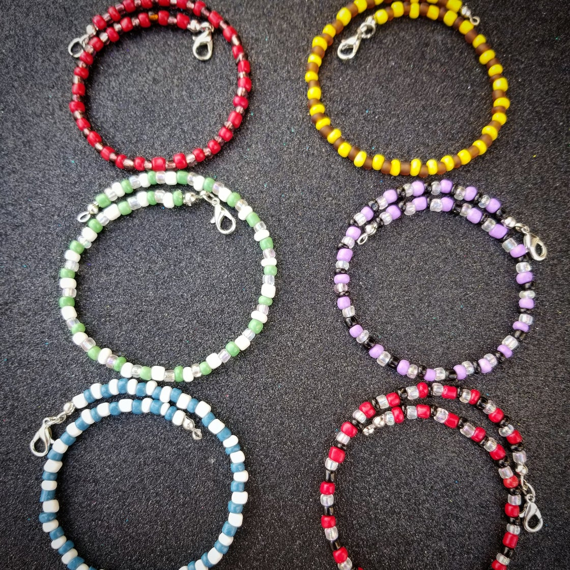 Image of Beaded Anklets