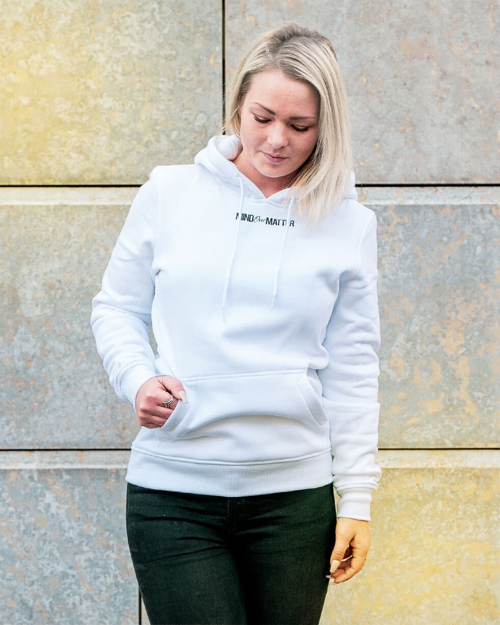 Image of ALL ONE Unisex Hoodie |White
