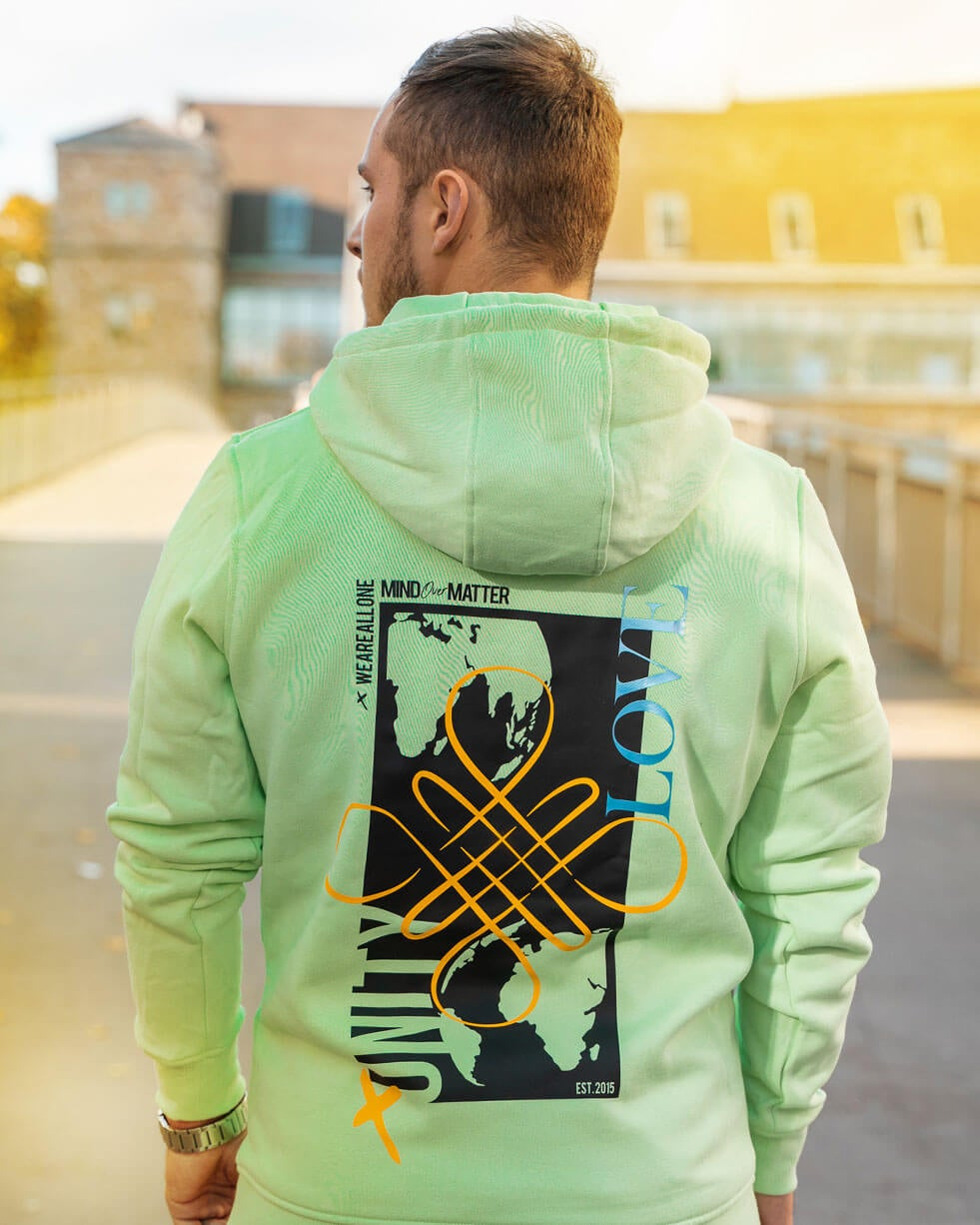 Image of ALL ONE Unisex Hoodie | Mint