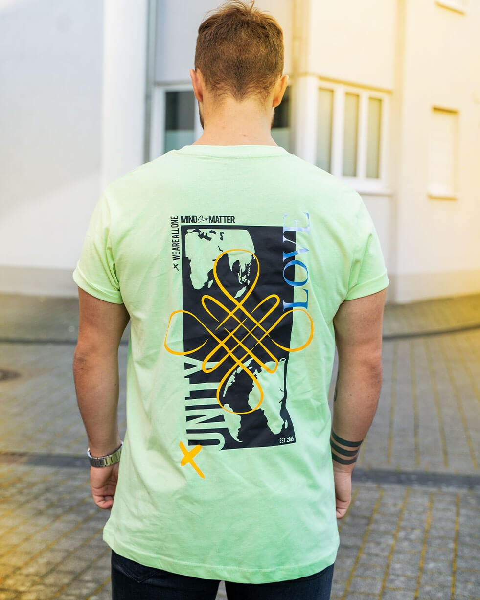 Image of ALL ONE Unisex Shirt   Mint