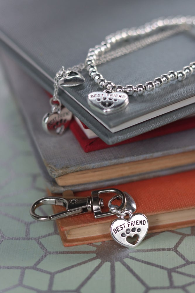 Image of My Pet and I - Pet accessory clip, necklace and bracelet
