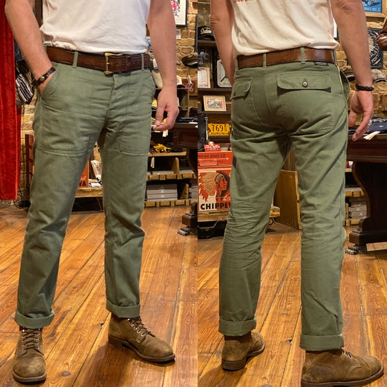 Image of PIKE BROTHERS 1962 OG-107 PANT