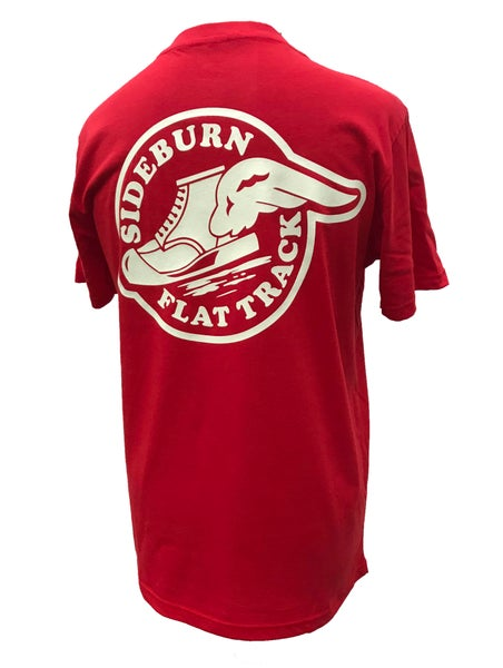 Image of Flat Track T-shirt - Red