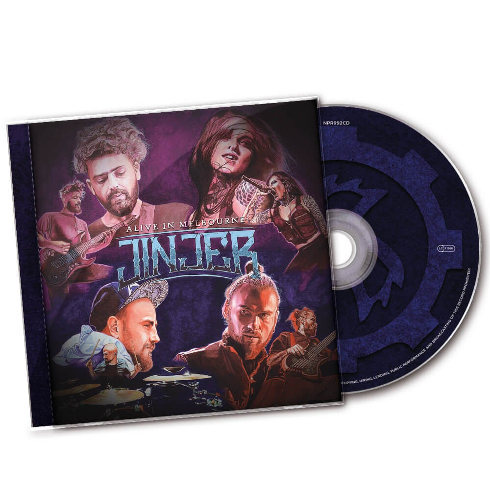 Image of JINJER - Alive in Melbourne - CD
