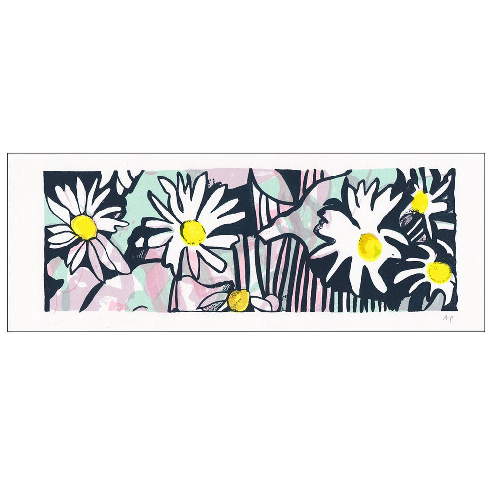 Image of Daisy screen print