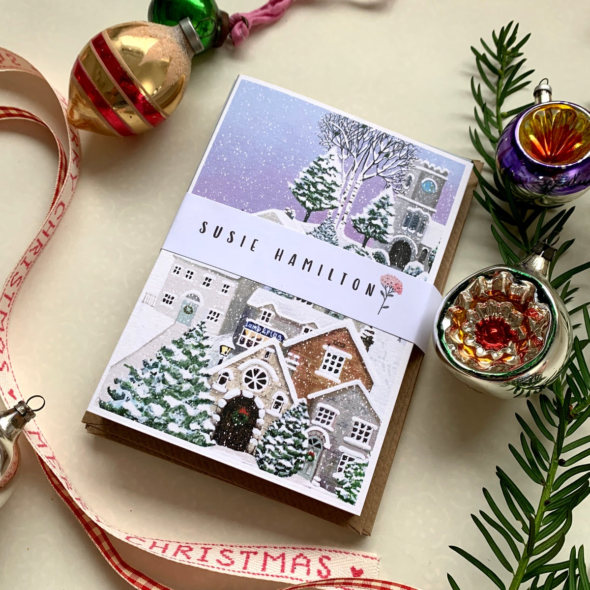 The Collector's Set of 12 Christmas Cards