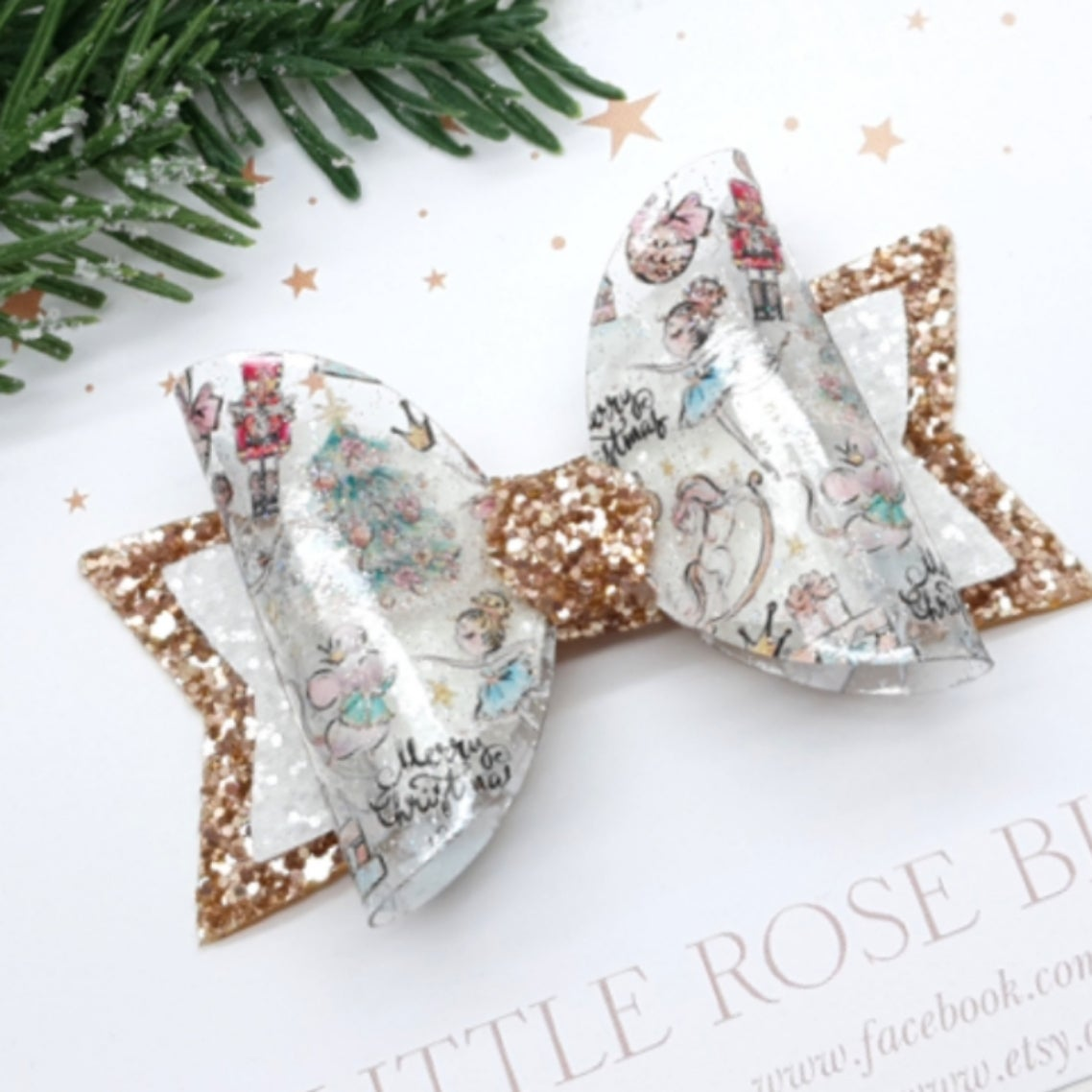Image of Christmas Nutcracker Bow