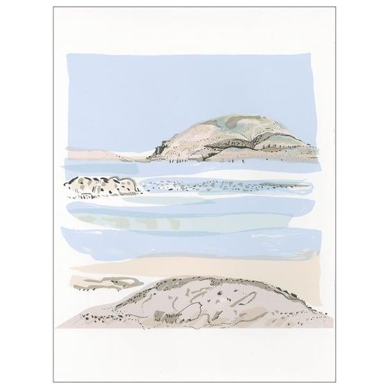 Image of Iona beach screen print