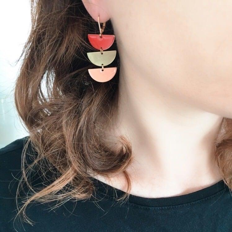 Boucles d'oreilles Miss