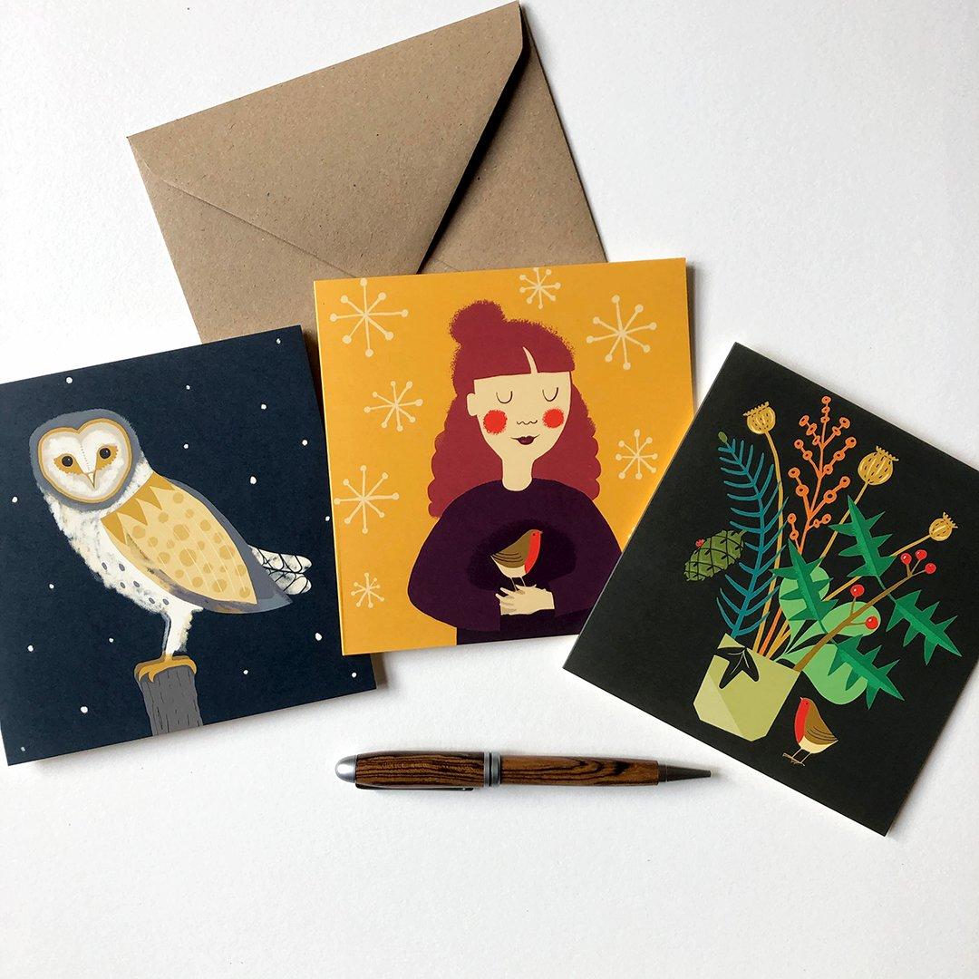 Seasonal Card Bundles - 3 designs