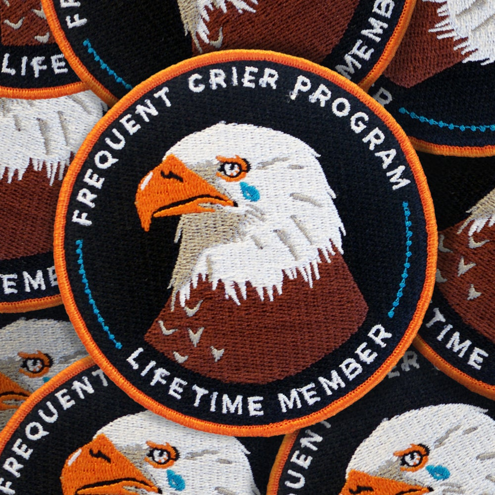 Image of Frequent Crier patch