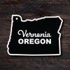 Original Vernonia Sticker - Black