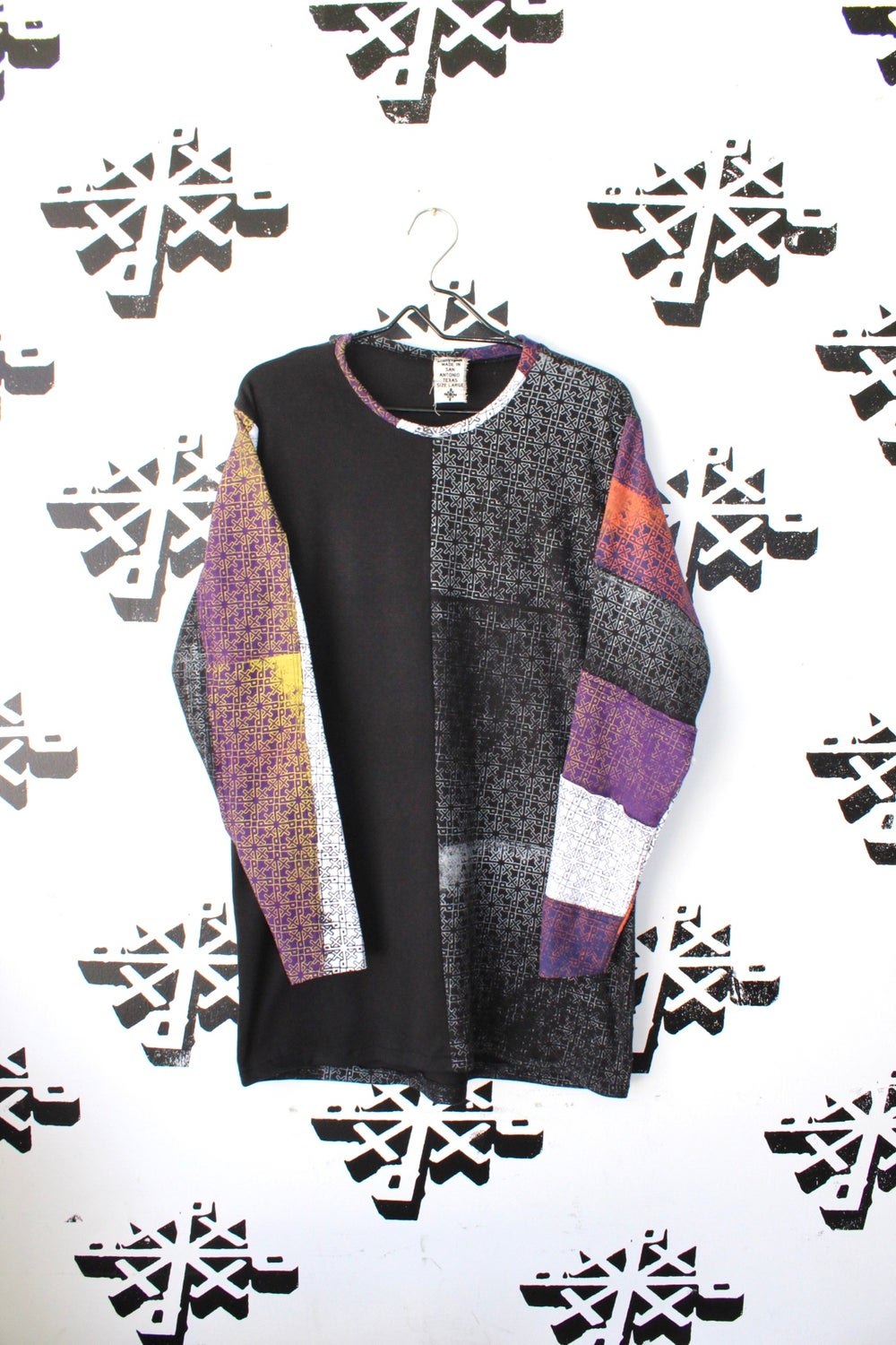 we really all over cut and sew long sleeve