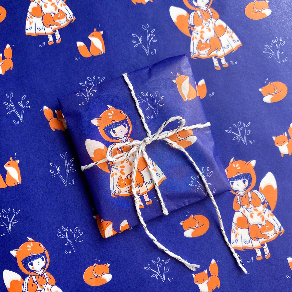 Image of Foxy Tissue Paper