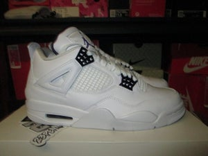 "Image of Air Jordan IV (4) Retro ""White/Court Purple"""