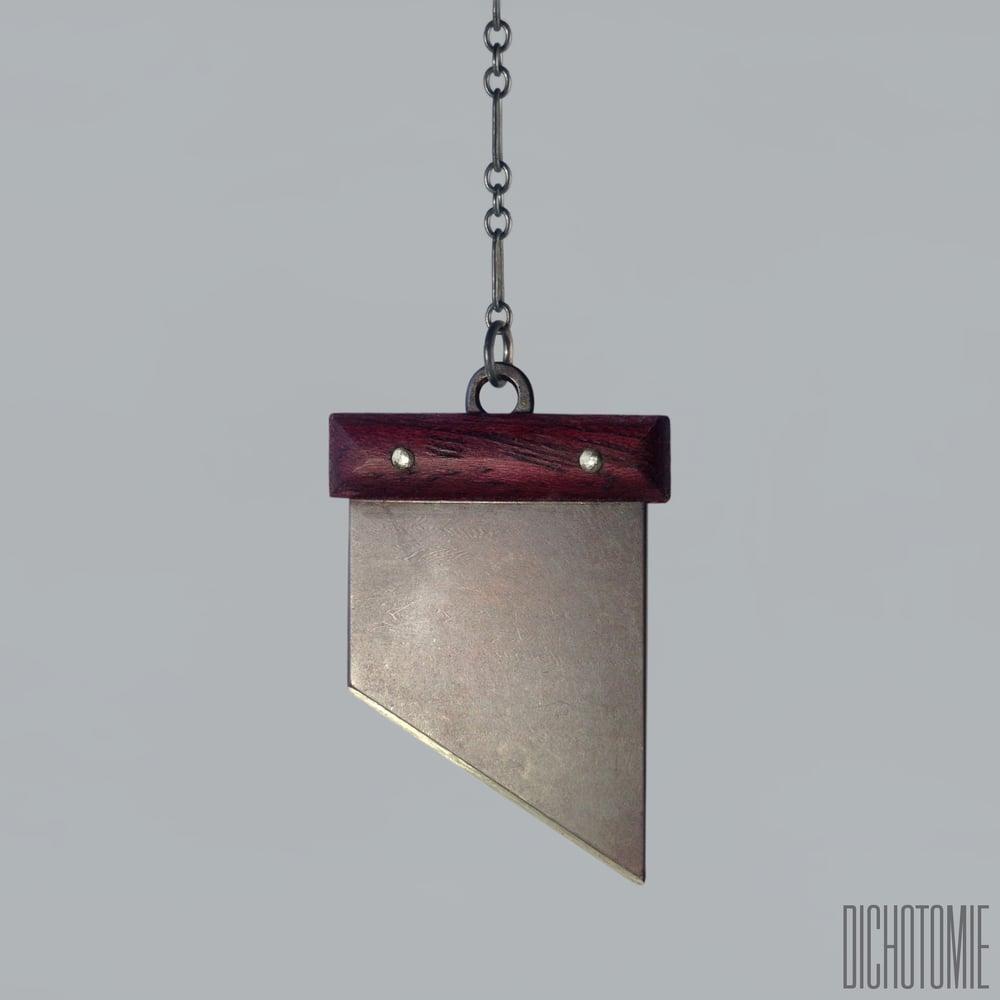 Image of La Demi-Lune Pendant (Silver)