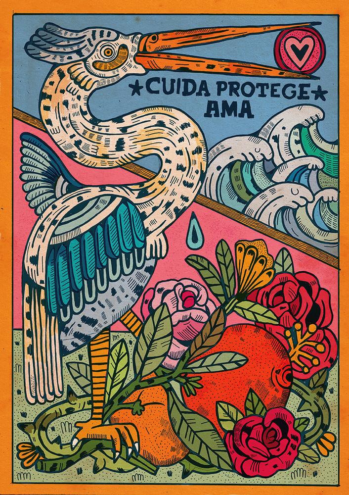 Image of CUIDA PROTEGE AMA