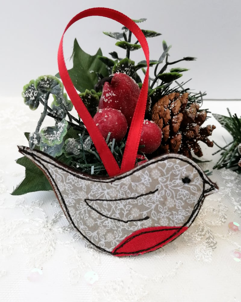 Image of Pre-Order Christmas Robin Decoration