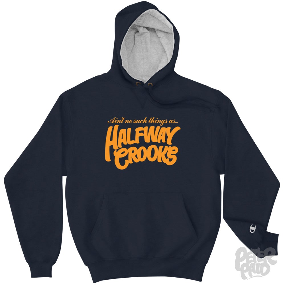 Image of Halfway Crooks - Authentic Champion Heavyweight Hoodie
