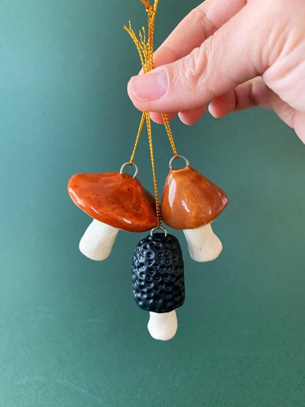 Image of Mushroom ornaments