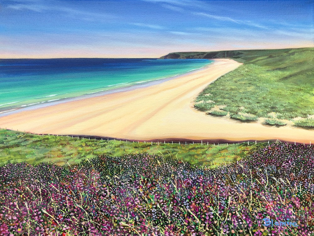 Image of Traigh mhor Lewis giclee print