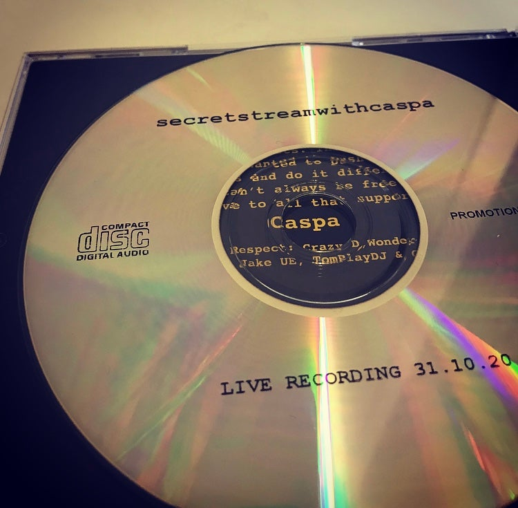 Image of secretstreamwithcaspa Mp3 CD [FREE]