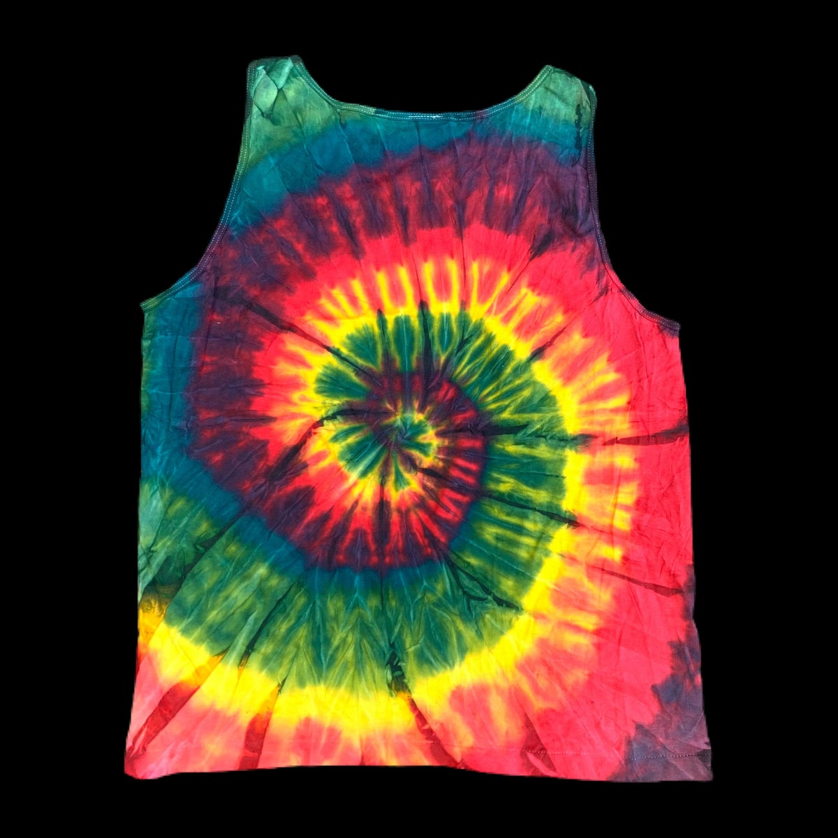 Original Vintage Grateful Dead 1992 Lithuania Fitzy's Embroidered Team Tank Top!! X-Large!