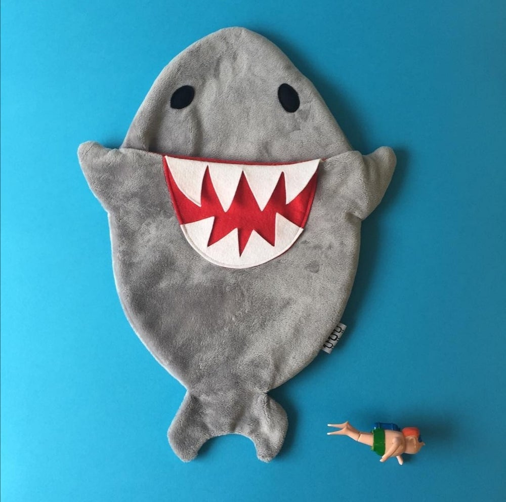 Image of Shark hot water bottle