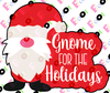Gnome for the Holidays Cutter