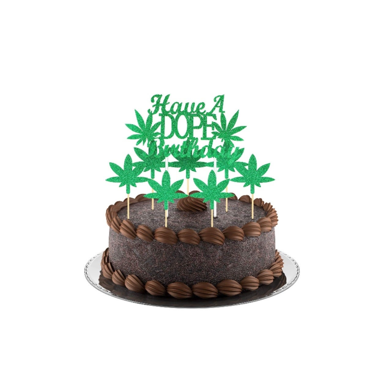 Image of Dope birthday cake topper