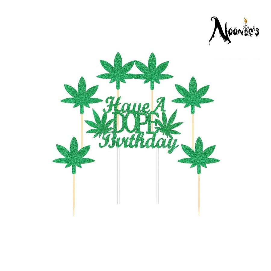 Image of Dope birthday cake topper