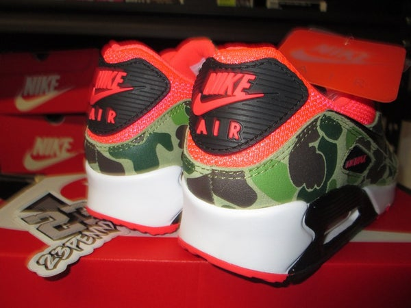 "Air Max 90 SP ""infrared/Duck Camo"" - areaGS - KIDS SIZE ONLY"
