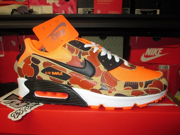 "Air Max 90 SP ""Total Orange/Duck Camo"" - areaGS - KIDS SIZE ONLY"