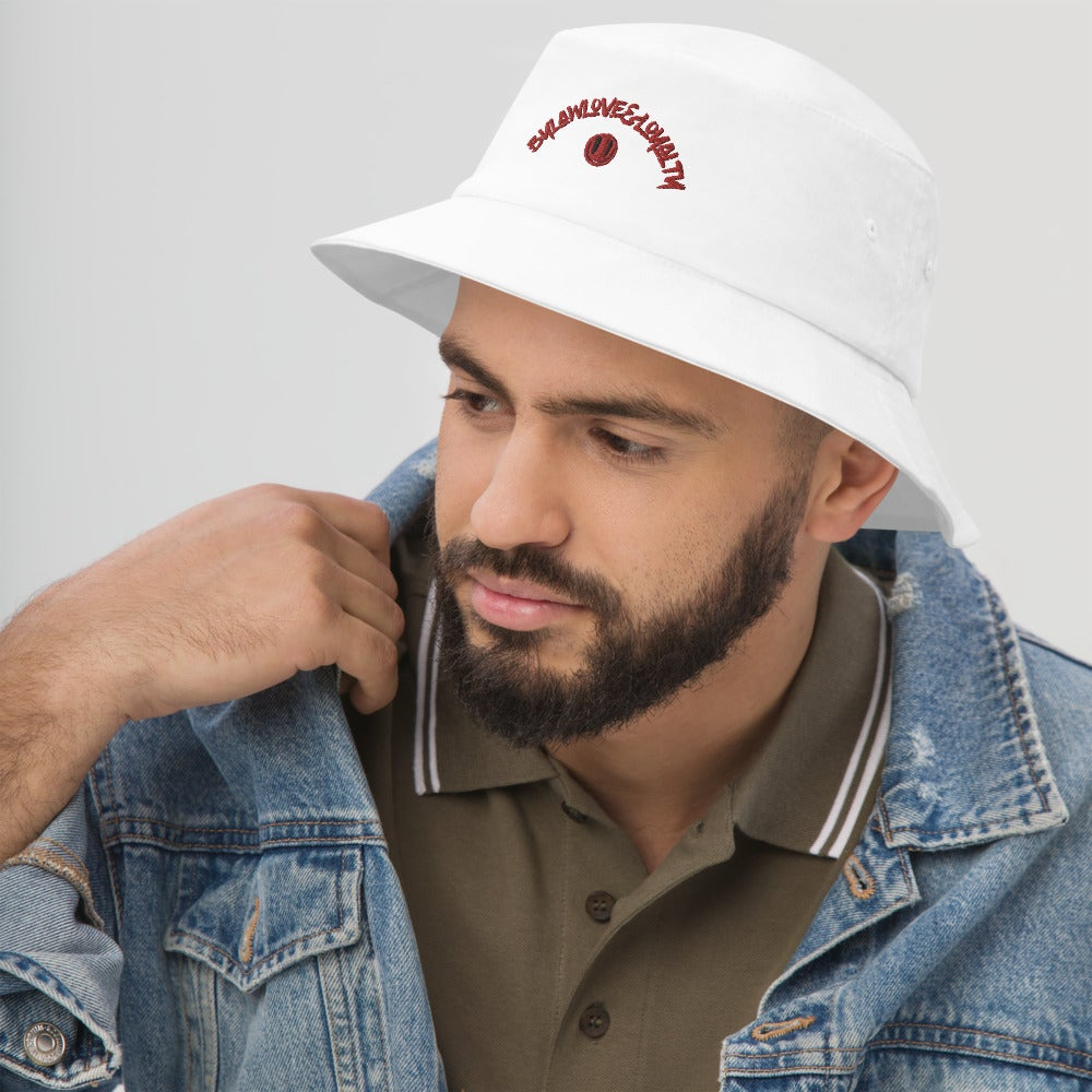 Image of (Red Font) DND Boy Bucket Hat