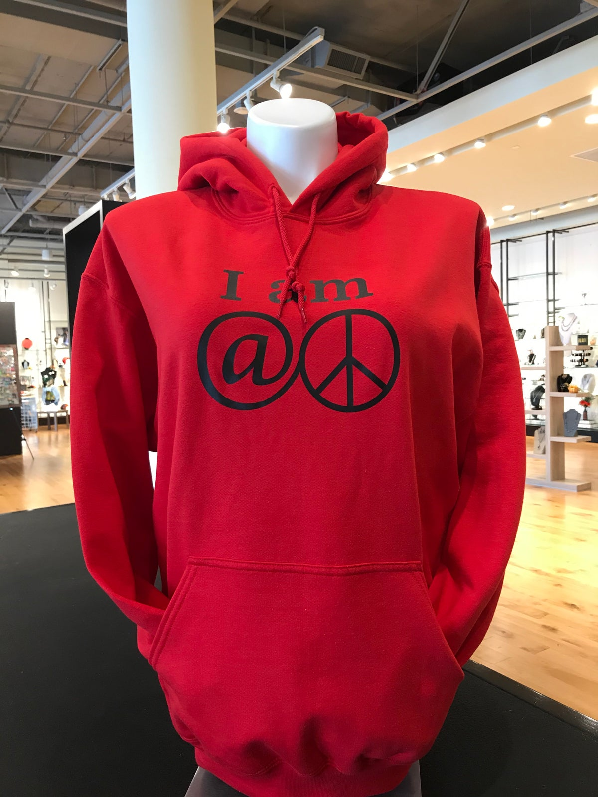 """""""At Peace"""" Pullover Hoodie"""