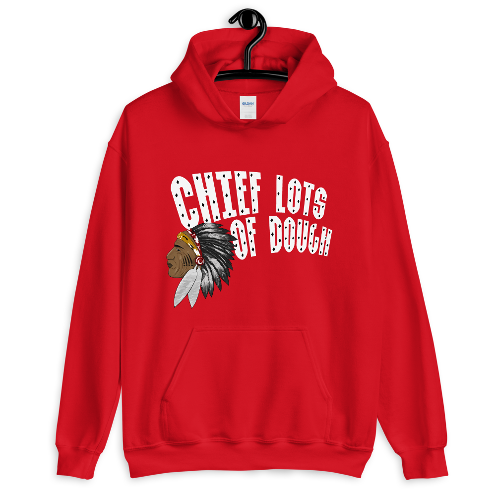 Image of Red & White Chief Lots of Dough Hoodie