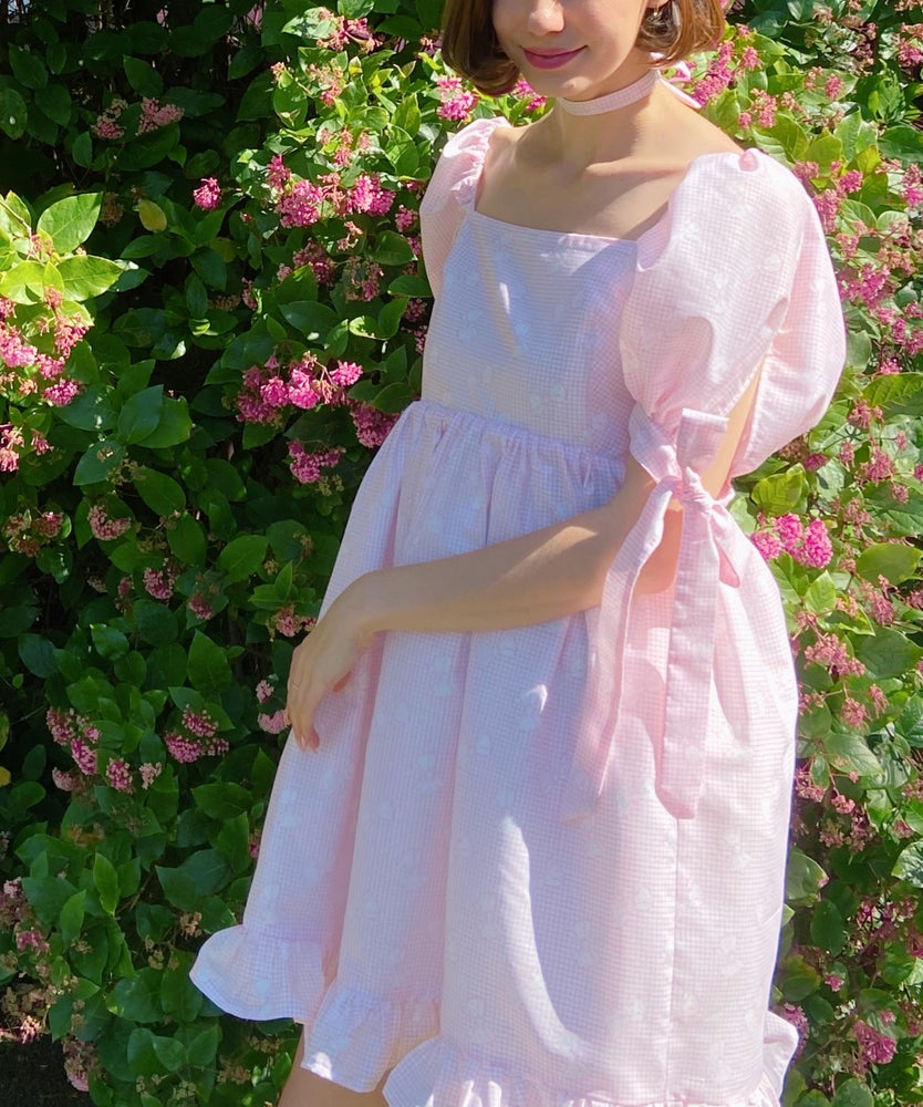Image of Sylph Puff Sleeve Dress PDF Sewing Pattern