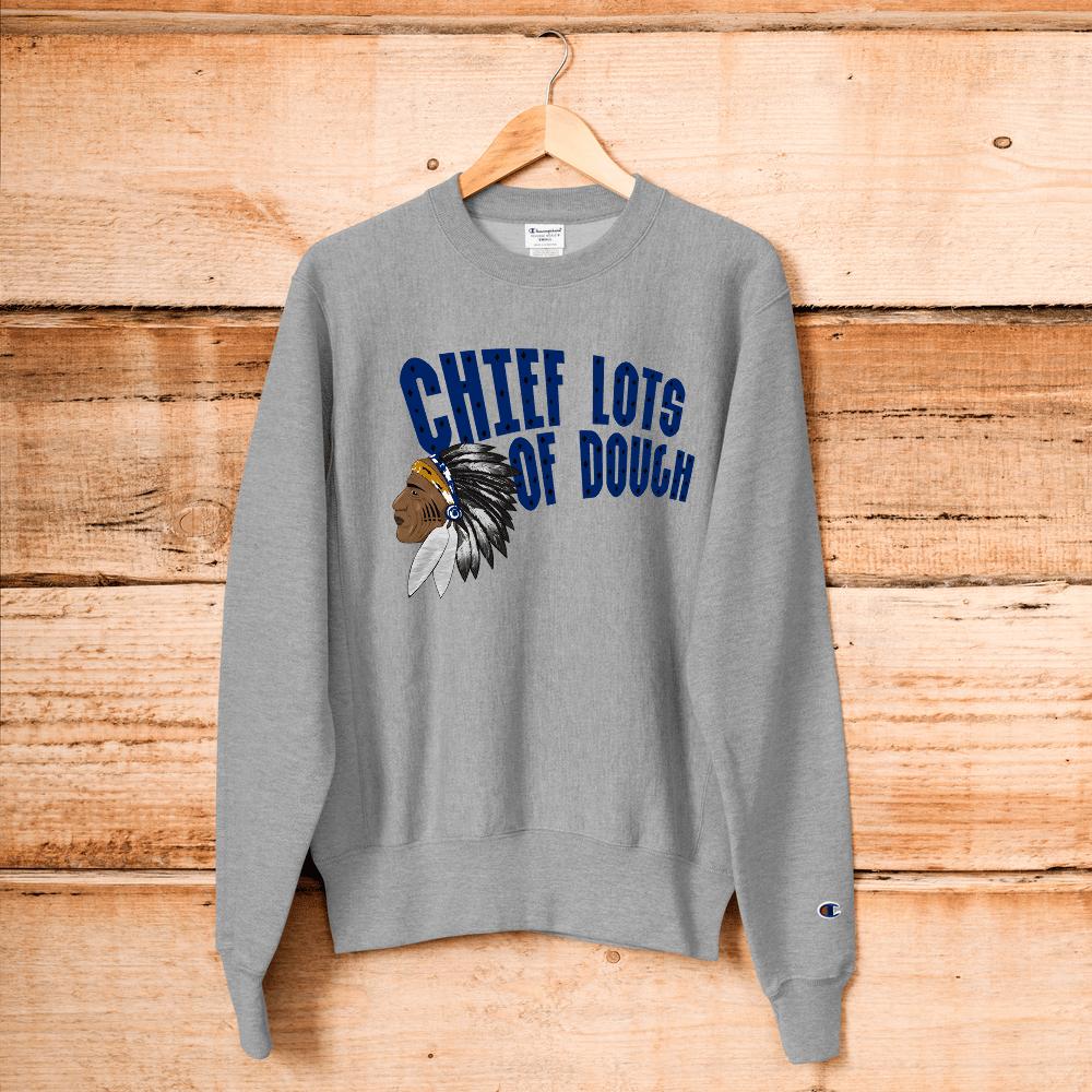 Image of Grey & Blue Chief Lots of Dough Sweatshirt