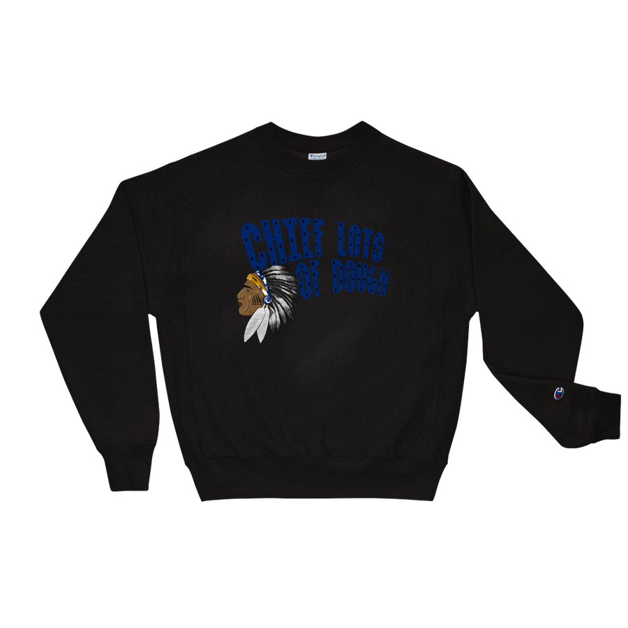 Image of Black & Blue Chief Lots of Dough Sweatshirt