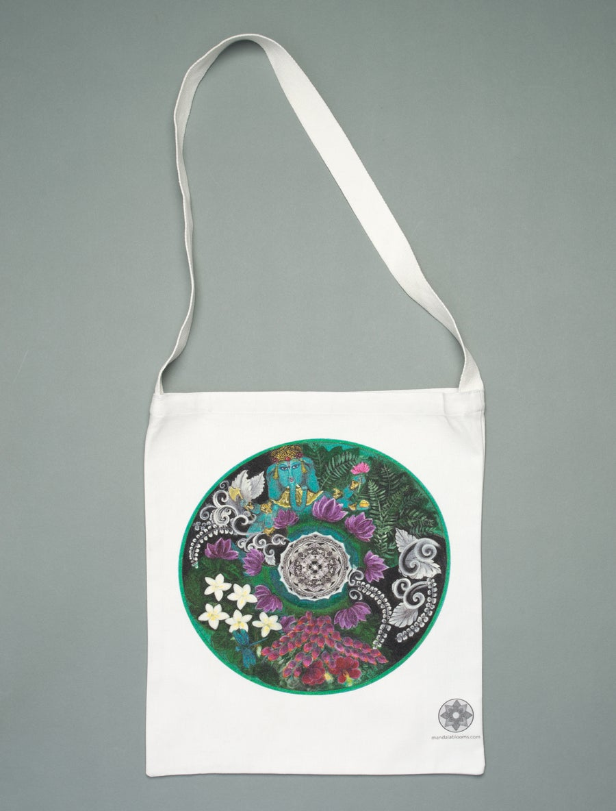 Image of Bali Bliss mandala tote bag