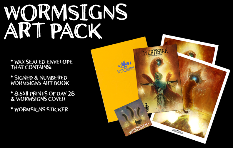 Image of WORMSIGN OCTOBER PAINTINGS ART BOOK