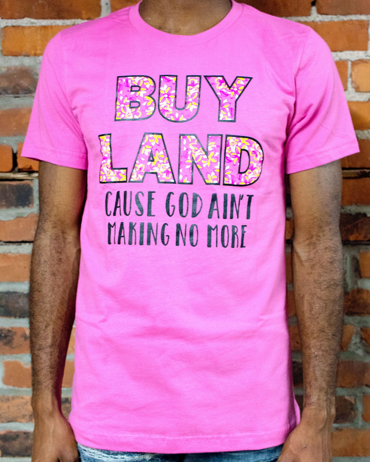 Image of Buy Land Pink/Black Unisex