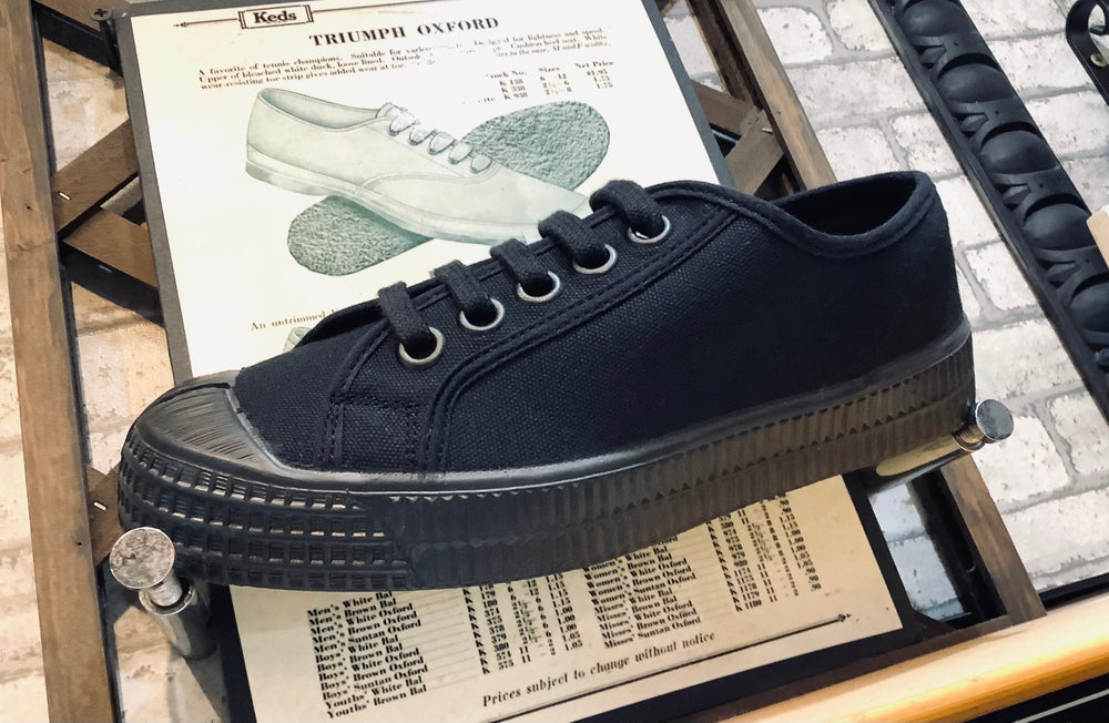 Image of Novesta master all black lo canvas shoes sneaker add in Slovakia