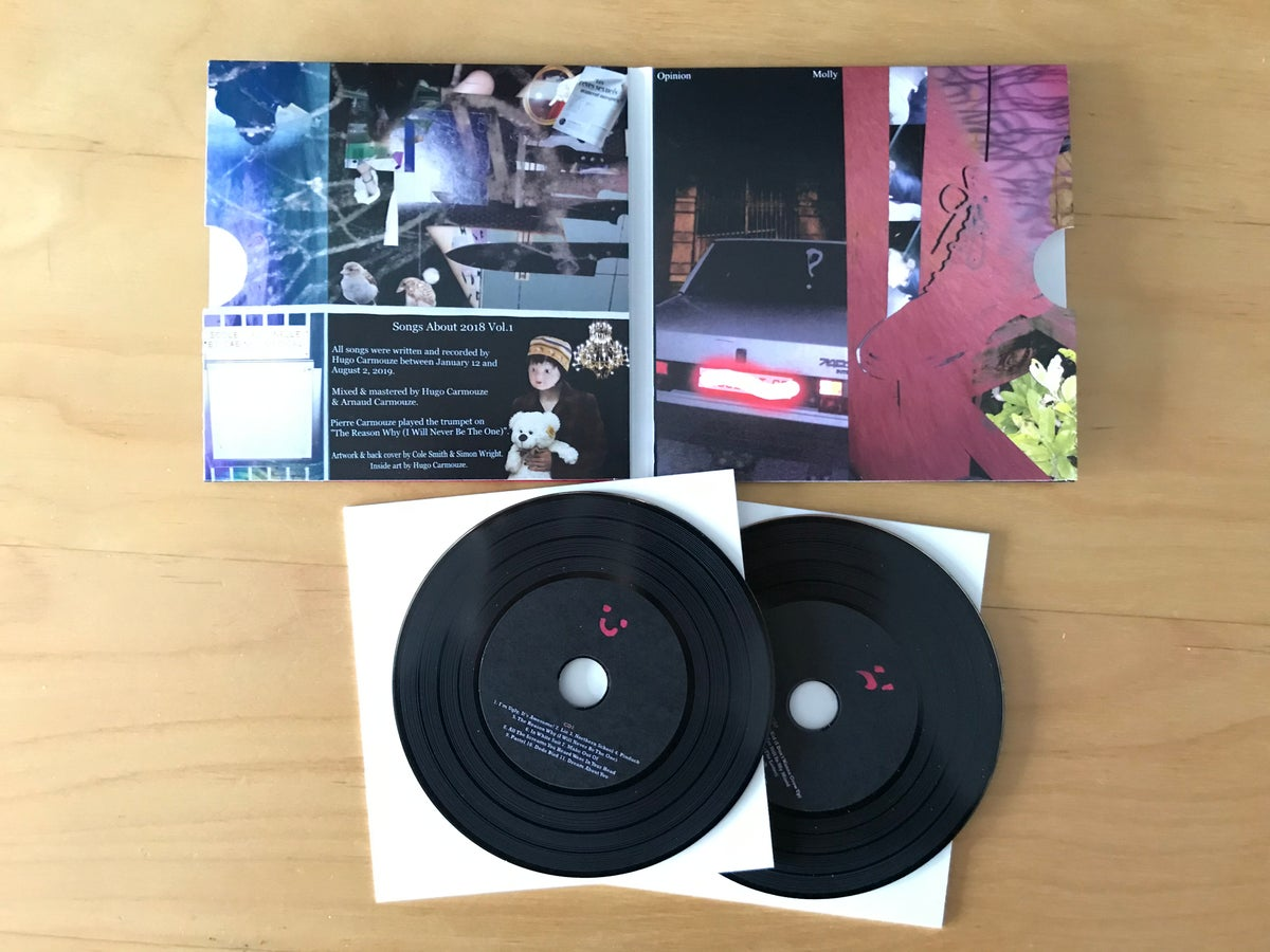 Image of MOLLY - OPINION (DOUBLE CD)