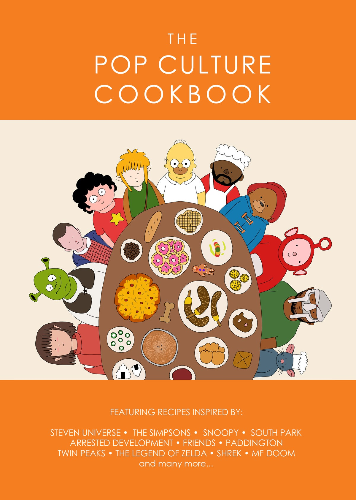 Image of The Pop Culture Cookbook