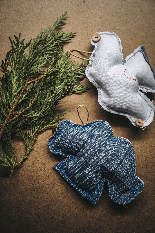 Image of Santa Jaws Ornaments