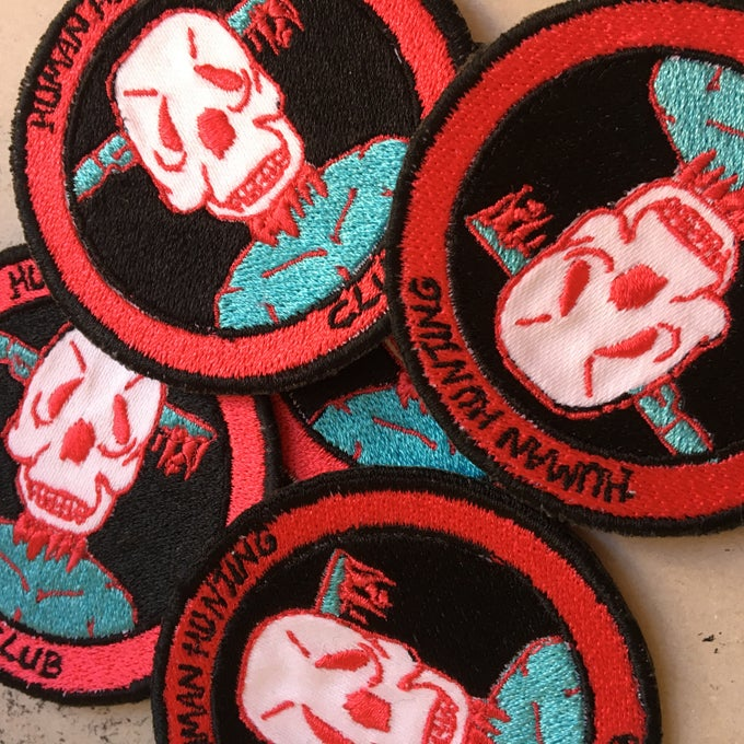 Image of HUMAN HUNTING CLUB PATCH
