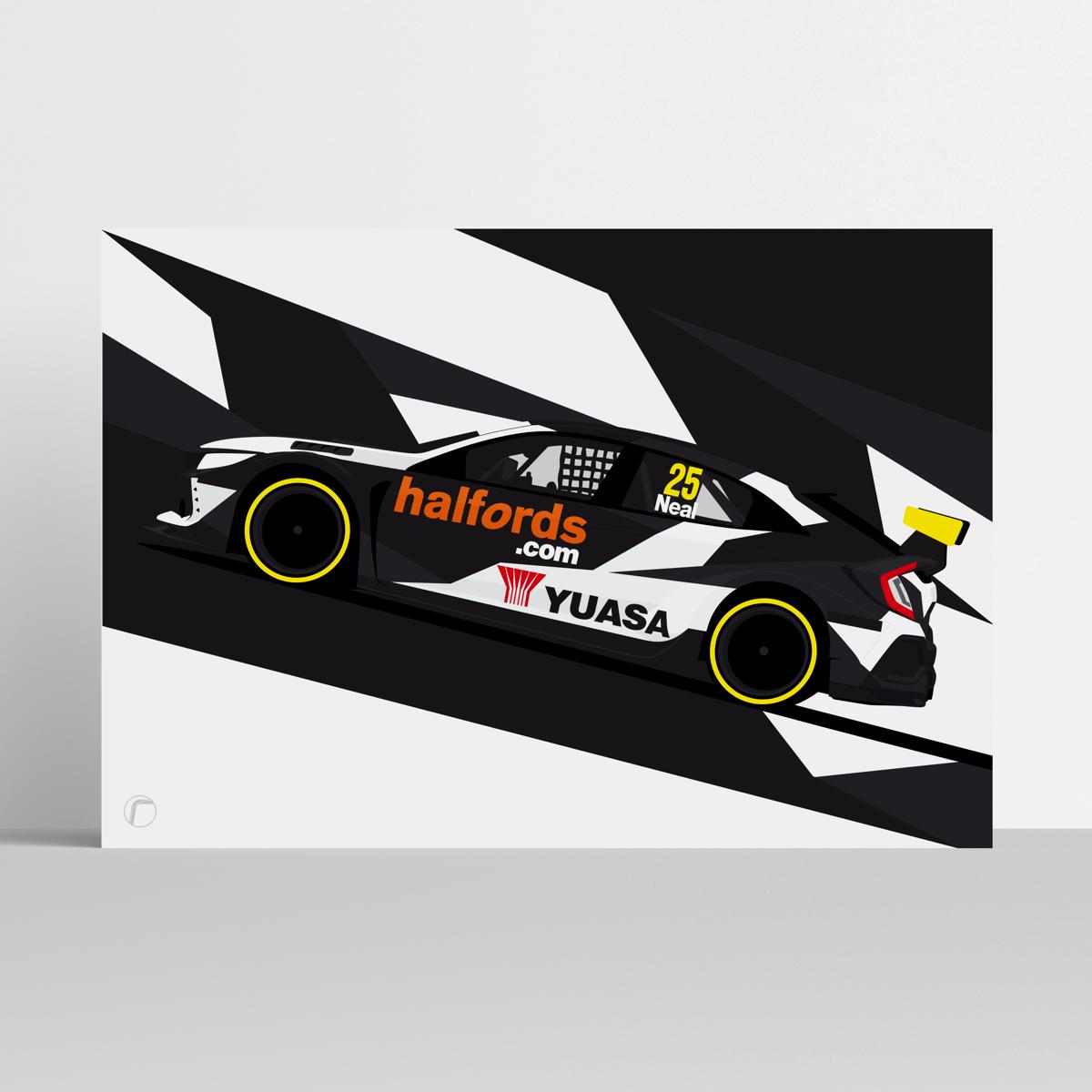 Image of Halfords Yuasa Racing | Neal 2020