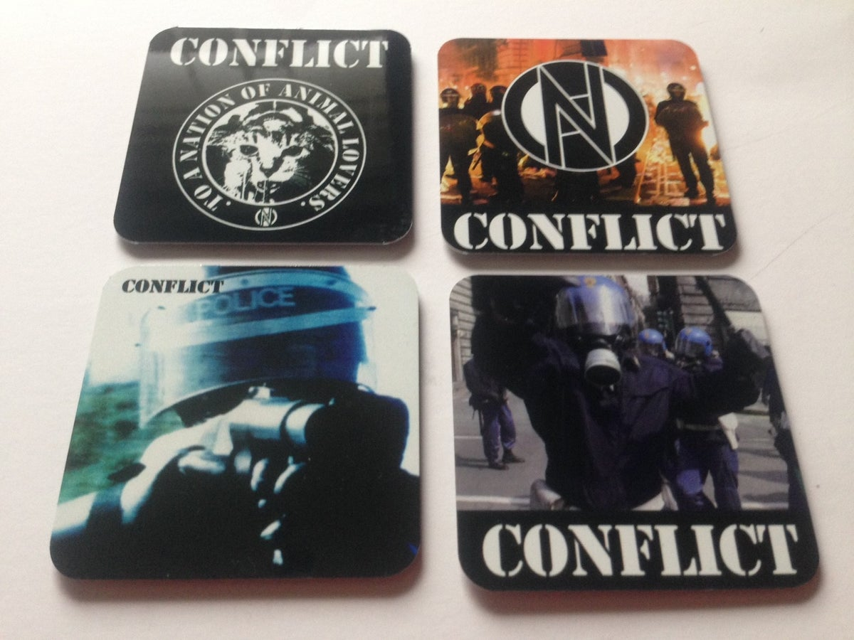 Image of CONFLICT Fridge Magnets